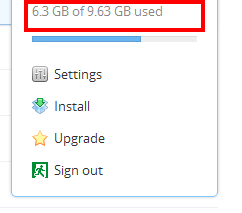 Dropbox Storage Increased