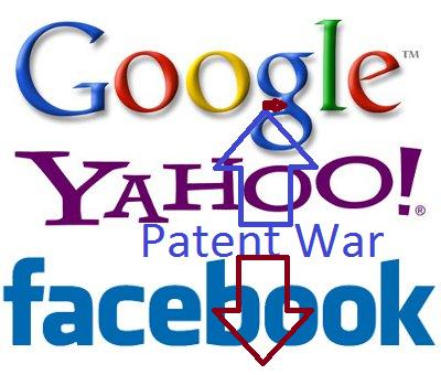 Facebook Google Yahoo! Patent Wars